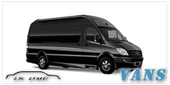 Luxury Van service in Fort Worth