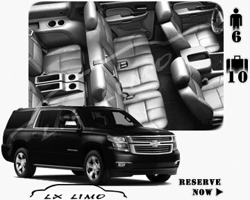 SUV Suburban for hire in Fort Worth