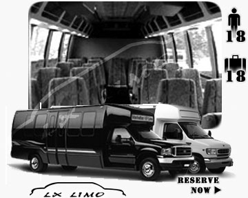 Fort Worth Mini bus for hire