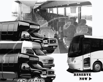 Fort Worth Bus rental 36 passenger