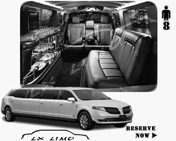 Stretch Limo for hire in Fort Worth