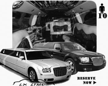 Chrysler 300 Limo for wedding in Fort Worth